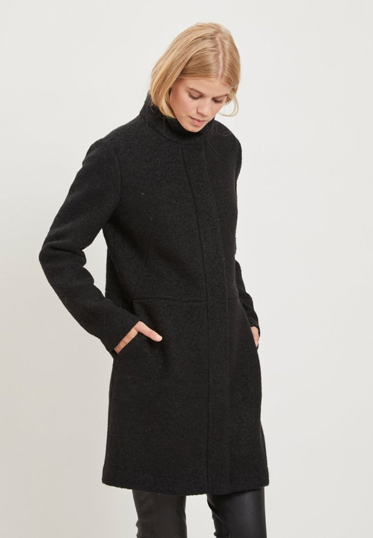 Vila - VIALANIS COAT - Short coat - black