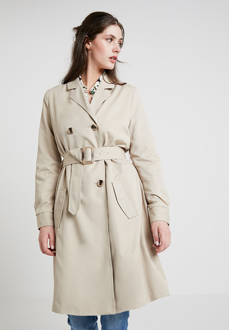Vila - VIPARUS - Trench - soft camel