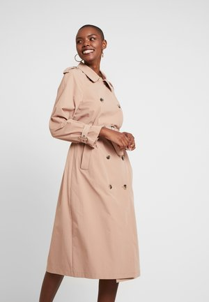 VIDESERT LONG - Trenchcoat - beige