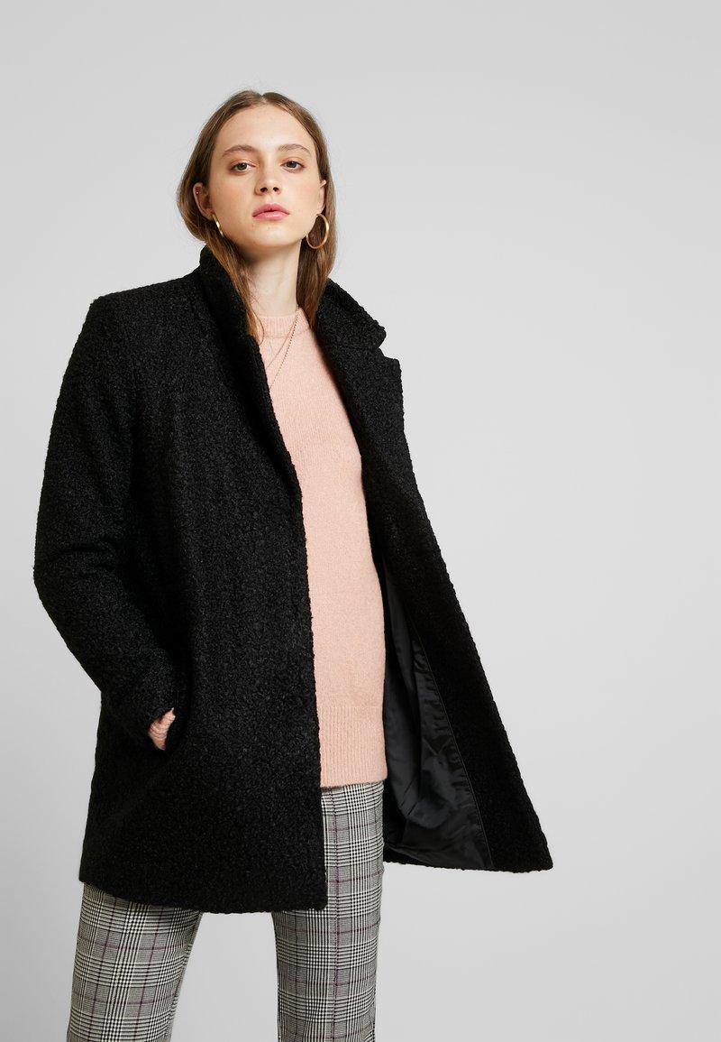 Vila - Classic coat - black