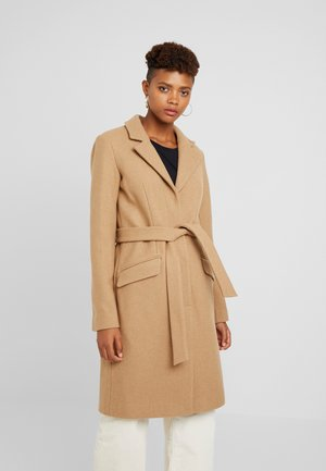 Classic coat - tigers eye