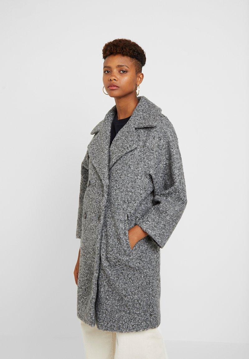 Vila - VIJESSI SLEEVE COAT - Frakker / klassisk frakker - medium grey melange