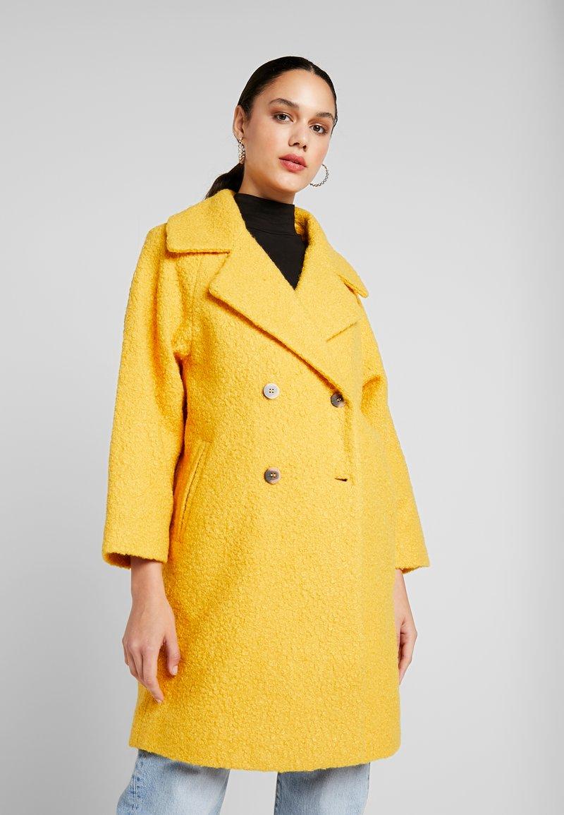 Vila - VIJESSI SLEEVE COAT - Classic coat - golden rod