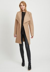 Vila - Classic coat - dusty camel - 1