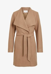 Vila - Classic coat - dusty camel - 5