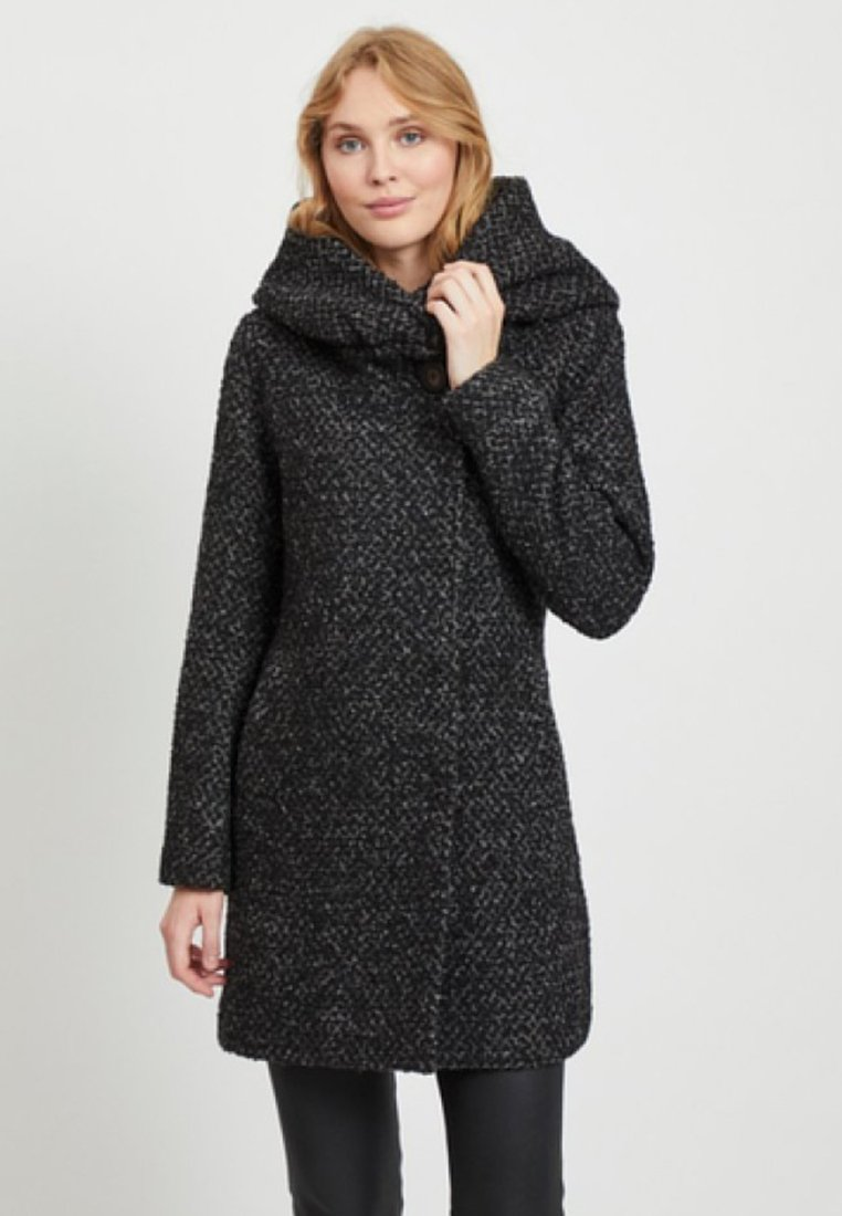 Vila - Cappotto corto - medium grey