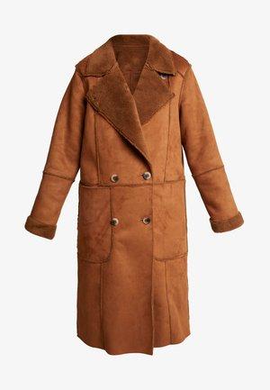 Zimní kabát - toffee