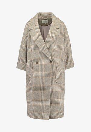 Classic coat - puce