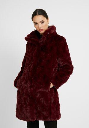 Classic coat - tawny port