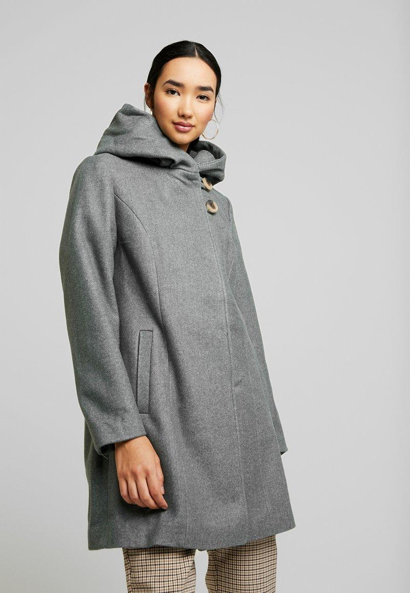 Vila - Abrigo - medium grey melange