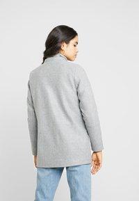 Vila - Manteau classique - light grey melange - 3