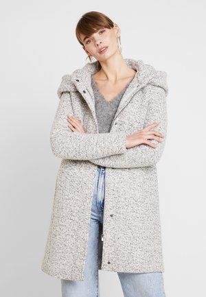 Classic coat - snow white/melange