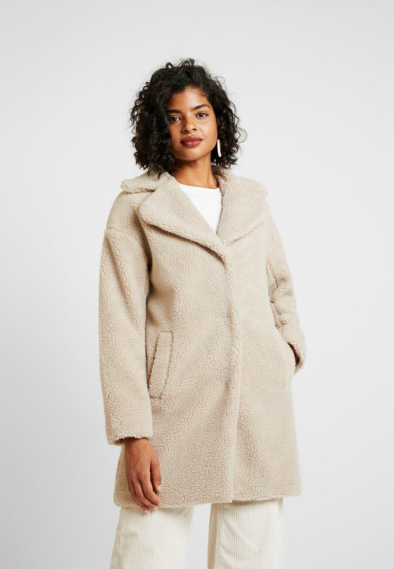 Vila - Classic coat - sandshell