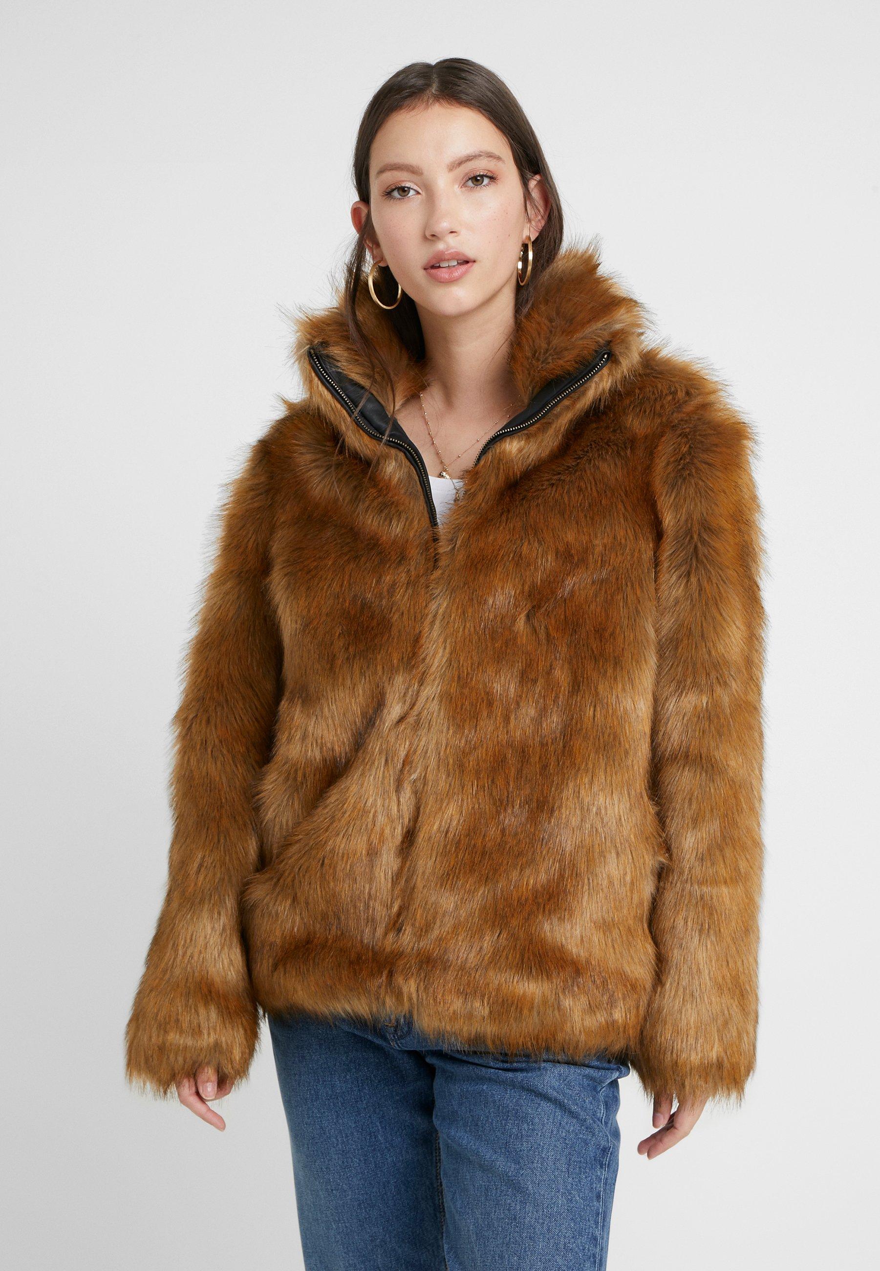 Vila - Winter jacket - toffee