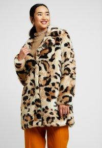 Vila - Classic coat - soft camel - 0