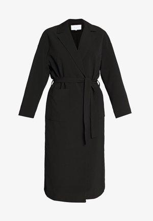 VICATE OVERSIZED LONG COAT - Wollmantel/klassischer Mantel - black