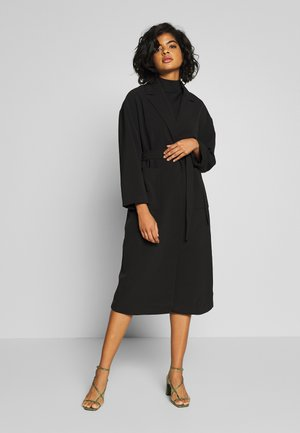 VICATE OVERSIZED LONG COAT - Kåpe / frakk - black