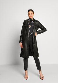 Vila - VIPEN  - Classic coat - black - 1