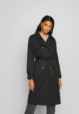 VIMOVEMENT LONG - Trenchcoat - black