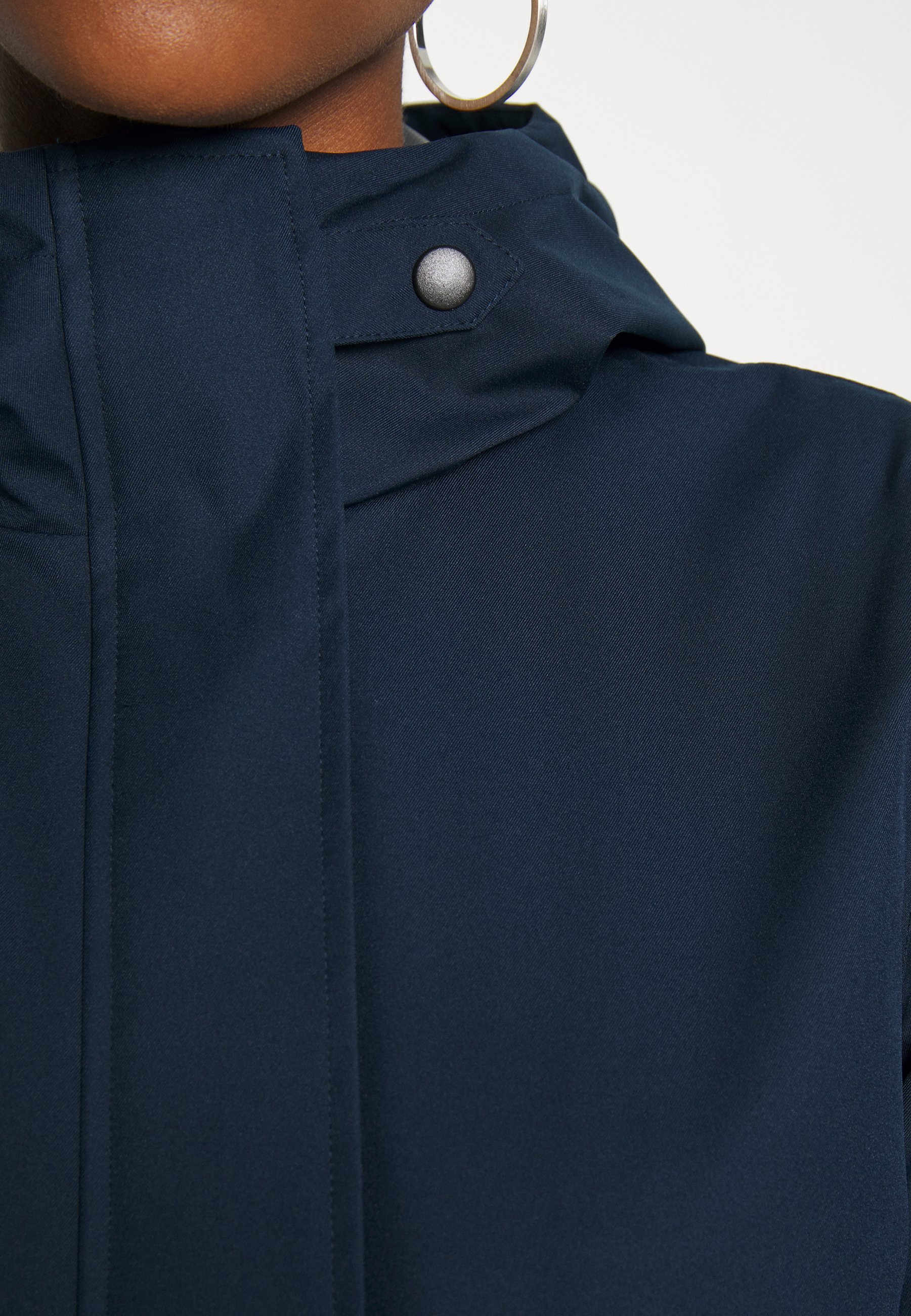 Vila VIWET JACKET - Parka - navy blazer