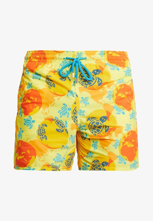 MOOREA - Swimming shorts - mappmonde dots