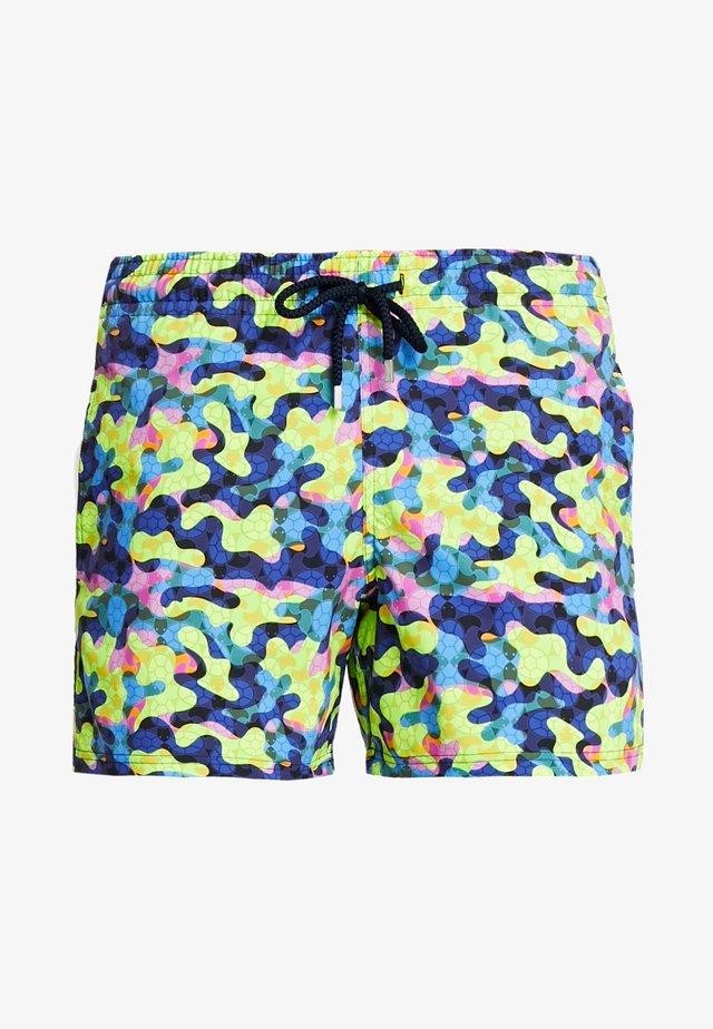 MOORSIE - Shorts da mare - jaune fluo