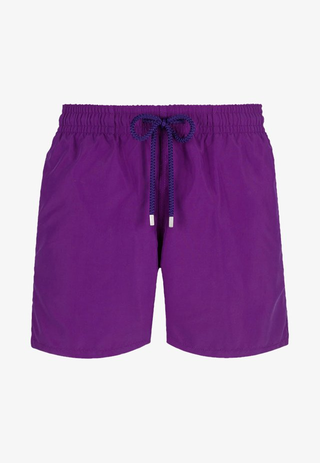 SOLID - Swimming shorts - plum