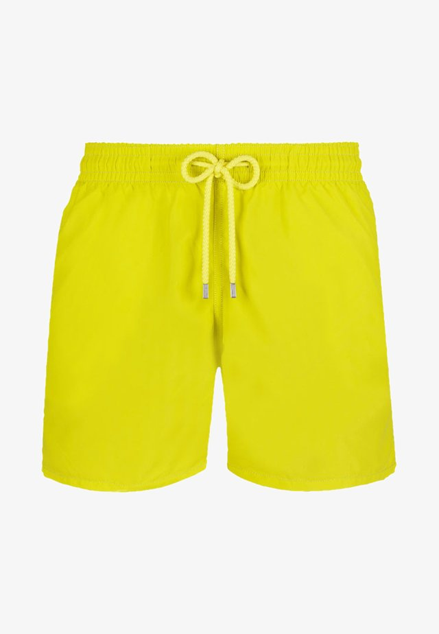 SOLID - Swimming shorts - neon green
