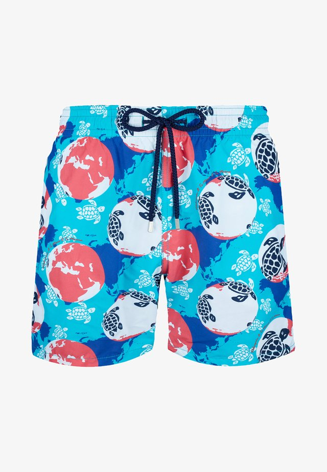 Swimming shorts - light blue