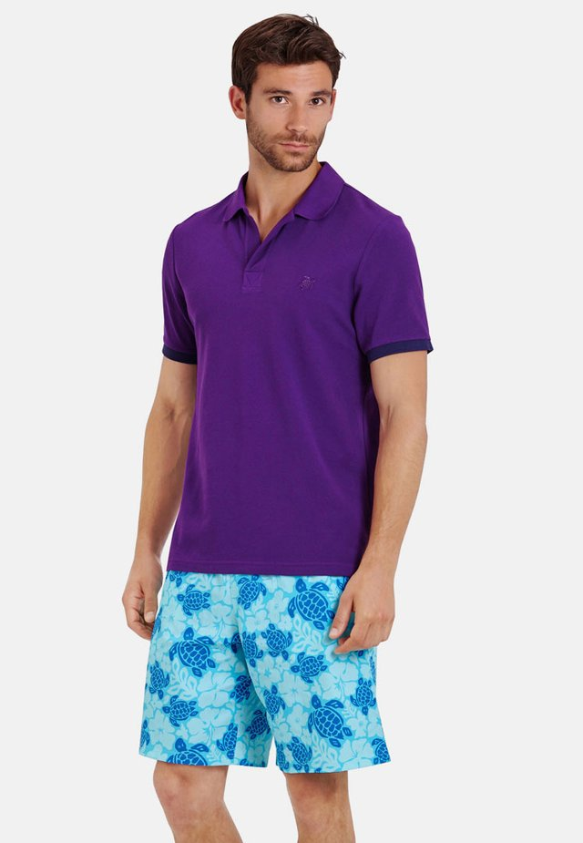 Polo shirt - plum