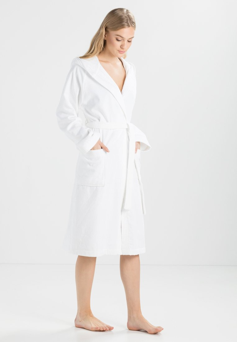 Vossen - TEXAS - Dressing gown - weiß