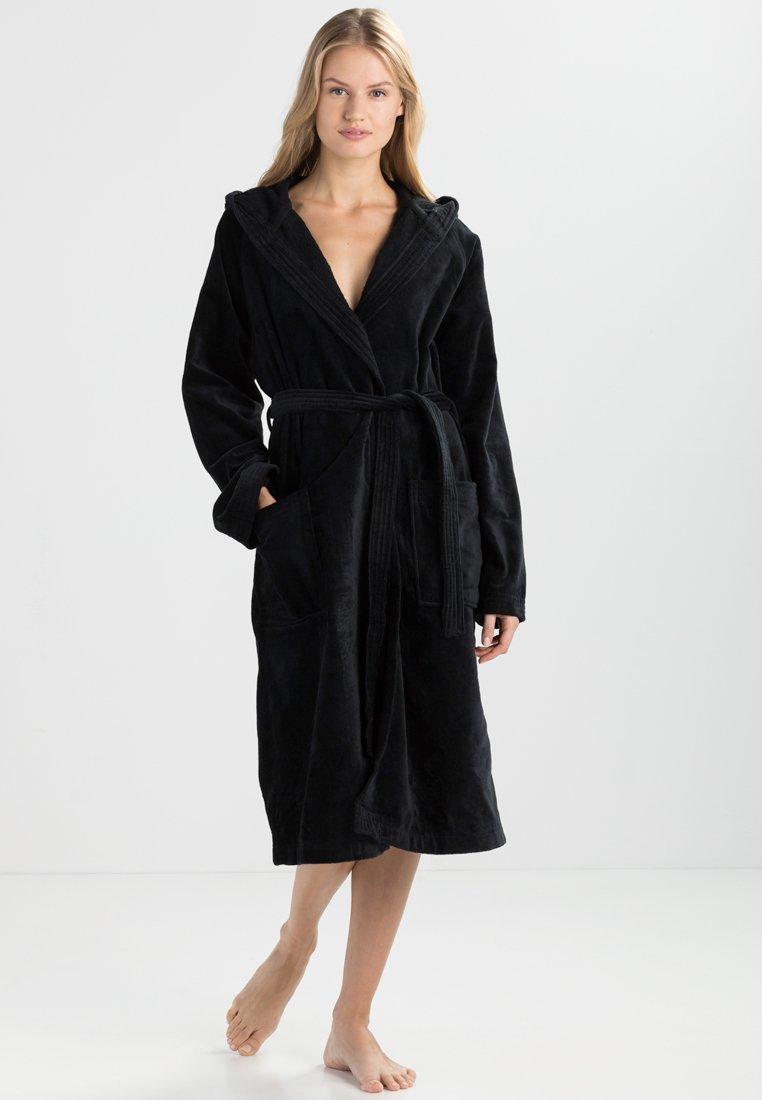 Vossen - TEXAS - Dressing gown - schwarz