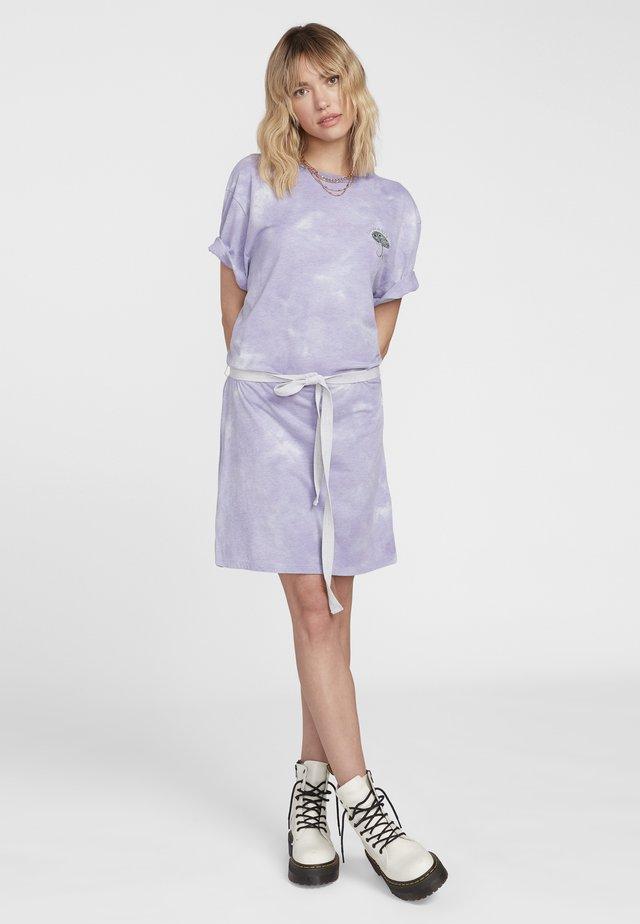 Jerseykleid - purple