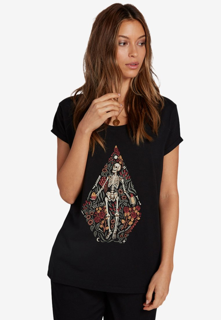 Volcom - Print T-shirt - black