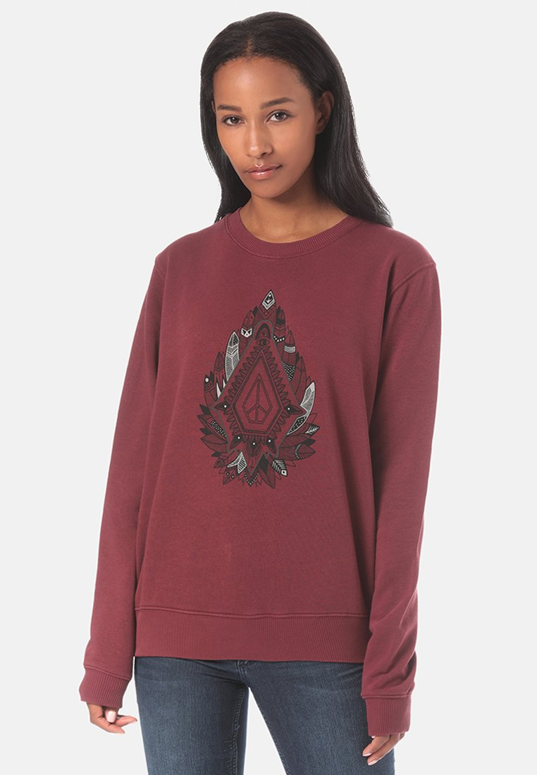 Volcom - SOUND CHECK - Sweatshirt - red