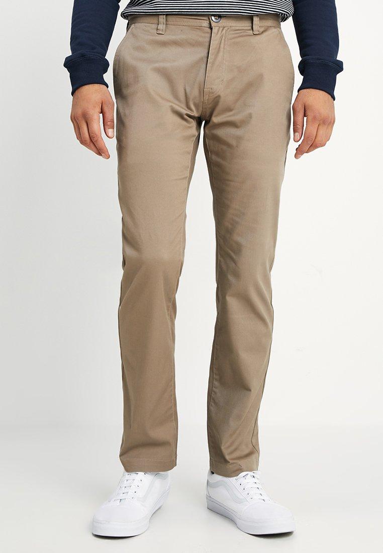 Volcom - FRICKIN MODERN STRETCH - Jeans Straight Leg - khaki