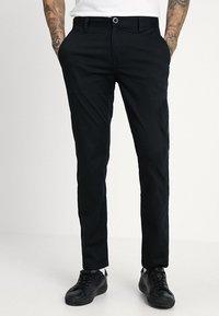 Volcom - FRICKIN MODERN STRETCH - Chino kalhoty - black - 0