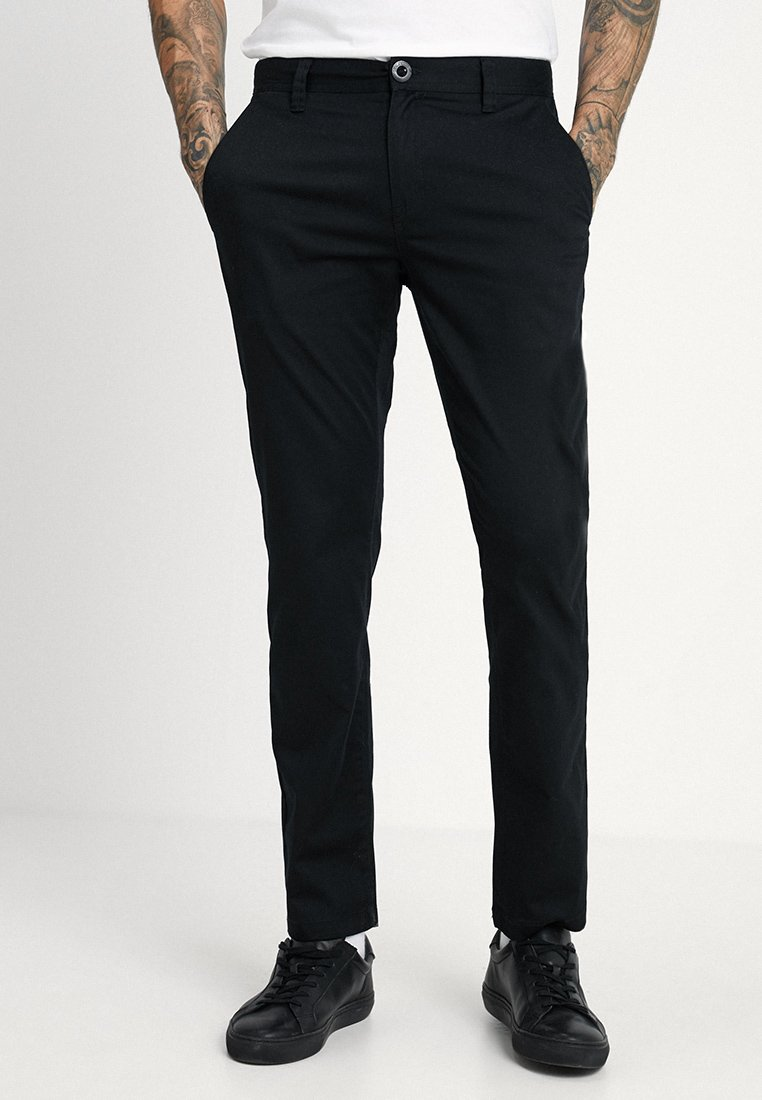 Volcom - FRICKIN MODERN STRETCH - Jeans Straight Leg - black