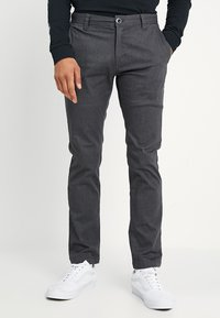 Volcom - FRICKIN MODERN STRETCH - Chinot - charcoal heather - 0