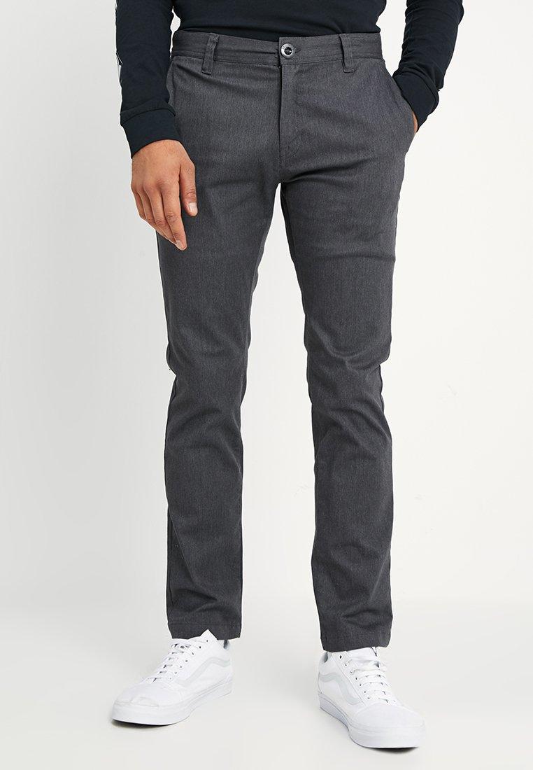 Volcom - FRICKIN MODERN STRETCH - Straight leg jeans - charcoal heather