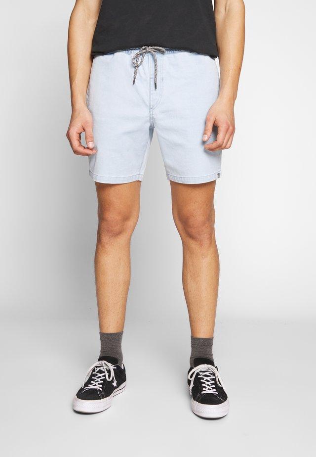 Jeans Shorts - stone blue denim