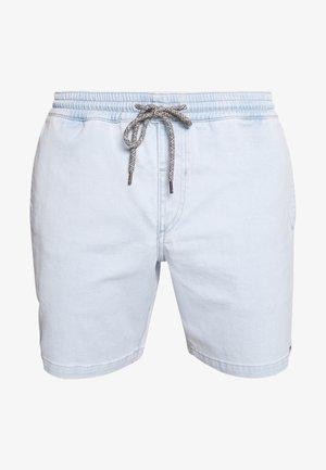 Denim shorts - stone blue denim