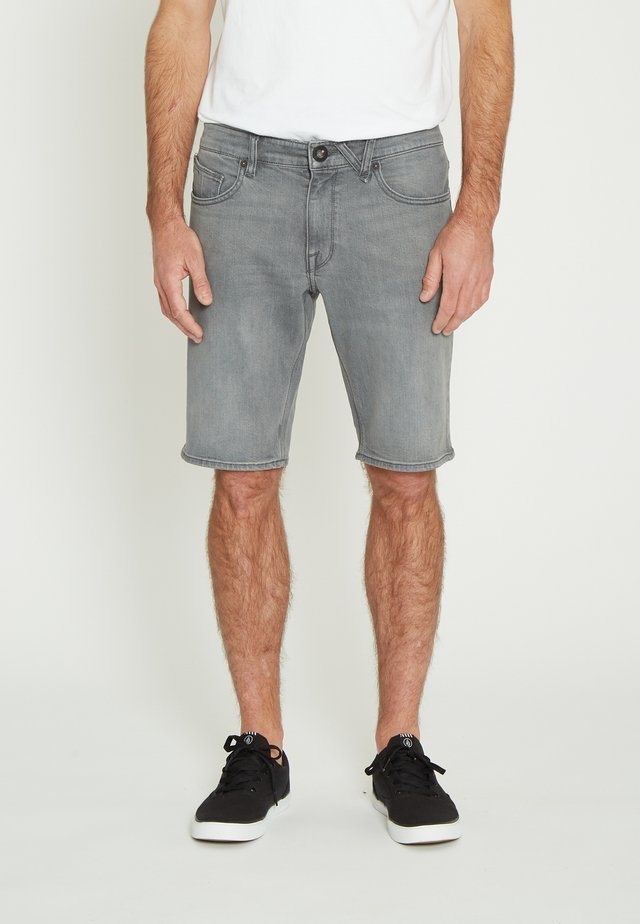 Denim shorts - daze_grey