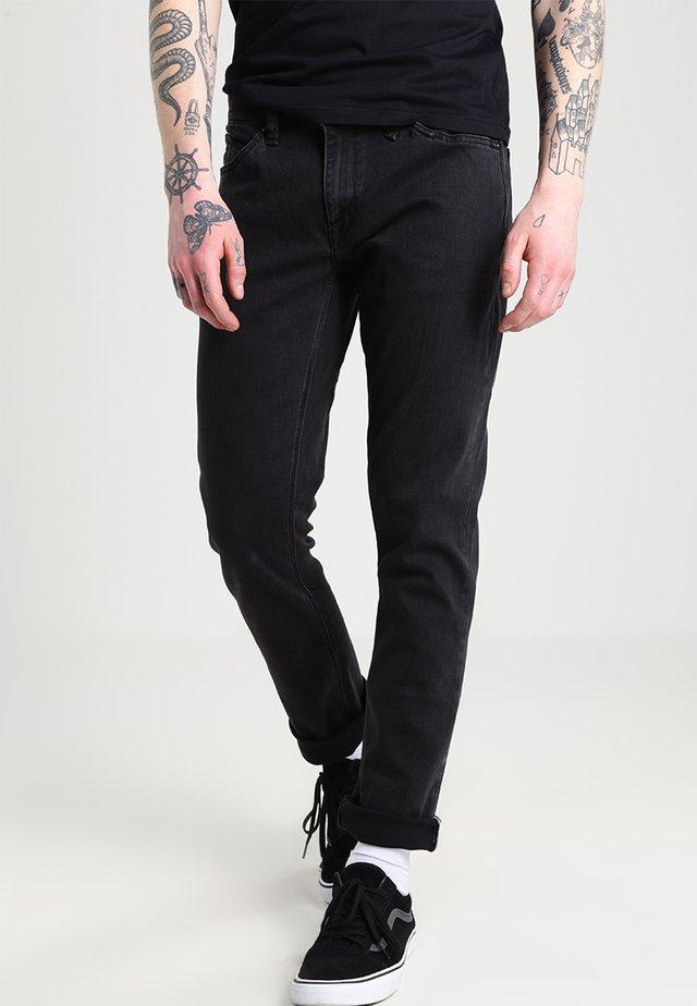 VORTA - Straight leg jeans - ink black