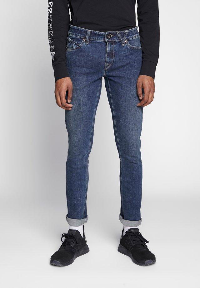 Džíny Straight Fit - dark blue denim