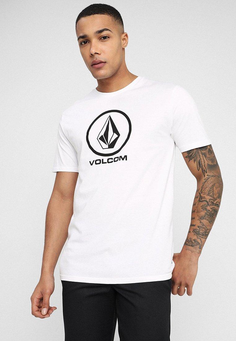 Volcom - CRISP STONE - T-shirt med print - white