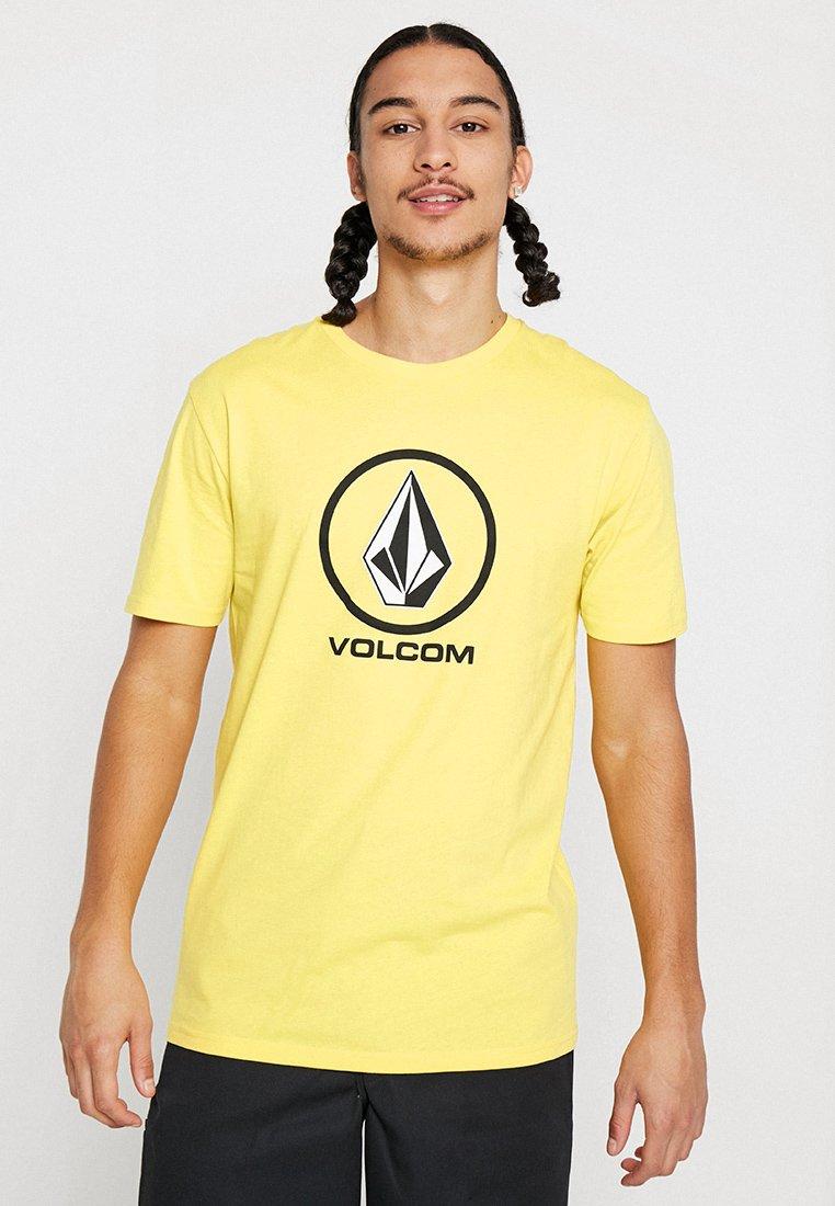 Volcom - CRISP STONE - Print T-shirt - yellow