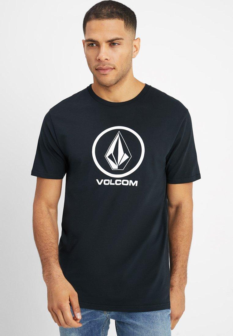 Volcom - CRISP STONE - Print T-shirt - black