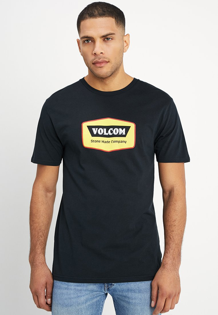Volcom - CRESTICLE - Print T-shirt - black