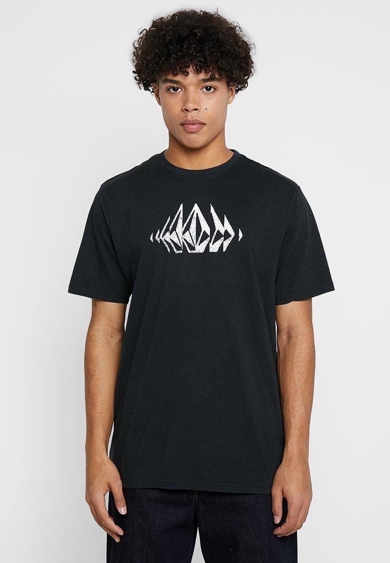 Volcom - STONE SOUNDS TEE - T-shirt med print - black